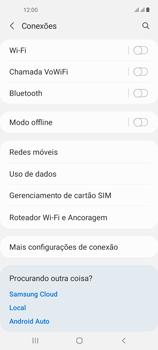 O celular não recebe chamadas - Samsung Galaxy A21s - Passo 6