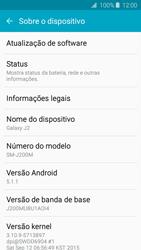 Como encontrar o número de IMEI do seu aparelho - Samsung Galaxy J2 Duos - Passo 4