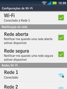 Como configurar uma rede Wi-Fi - Motorola Master - Passo 8