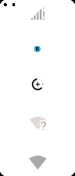 Explicação dos ícones - Motorola Moto G 5G Plus - Passo 3
