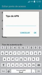 Como configurar a internet do seu aparelho (APN) - Samsung Galaxy A5 - Passo 13