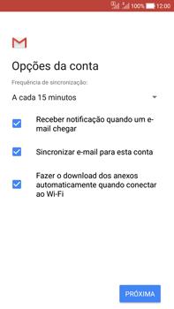 Como configurar seu celular para receber e enviar e-mails - Asus Zenfone Selfie - Passo 20