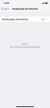 Como atualizar o software do seu aparelho - Apple iPhone X - Passo 6