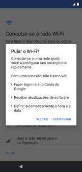 Como configurar pela primeira vez - Motorola Moto G7 Play - Passo 5