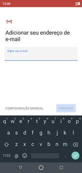 Como configurar seu celular para receber e enviar e-mails - Motorola One - Passo 8