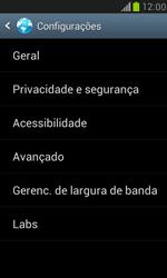 Como configurar a internet do seu aparelho (APN) - Samsung Galaxy S III Mini - Passo 21