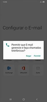 Como configurar seu celular para receber e enviar e-mails - Samsung Galaxy A50 - Passo 10