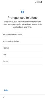 Como configurar pela primeira vez - Samsung Galaxy S21 Ultra 5G - Passo 12