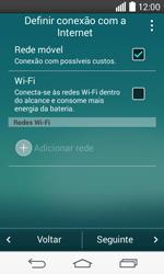 Como ativar seu aparelho - LG F60 - Passo 5