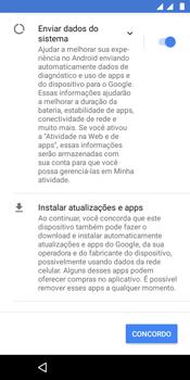 Como configurar pela primeira vez - Motorola Moto E5 - Passo 15