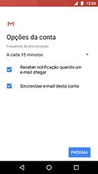 Como configurar seu celular para receber e enviar e-mails - Motorola Moto X4 - Passo 19