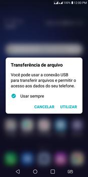 Transferir dados do telefone para o computador (Windows) - LG K12+ - Passo 2