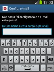 Como configurar seu celular para receber e enviar e-mails - Samsung Galaxy Pocket - Passo 21