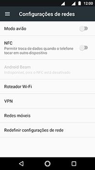 Como usar seu aparelho como um roteador de rede Wi-Fi - Motorola Moto Z2 Play - Passo 4
