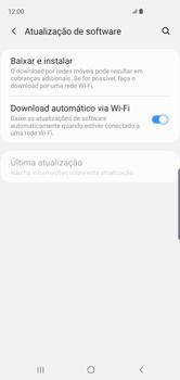 Como atualizar o software do seu aparelho - Samsung Galaxy S10 - Passo 5