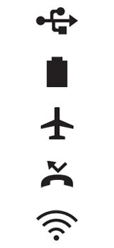 Explicação dos ícones - LG K40S - Passo 6