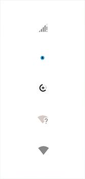 Explicação dos ícones - Motorola Moto G7 - Passo 7