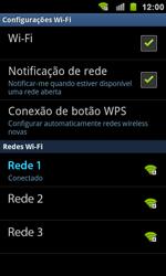 Como configurar uma rede Wi-Fi - Samsung Galaxy S II - Passo 8