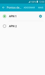 Como configurar a internet do seu aparelho (APN) - Samsung Galaxy J1 - Passo 15