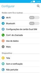 Como usar seu aparelho como um roteador de rede Wi-Fi - Asus ZenFone 2 - Passo 3