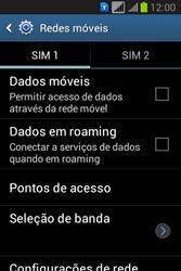 Como ativar e desativar uma rede de dados - Samsung Galaxy Young - Passo 7