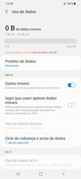 Como conectar à internet - Samsung Galaxy S21 Ultra 5G - Passo 7
