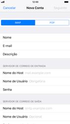 Como configurar seu celular para receber e enviar e-mails - Apple iPhone 8 - Passo 10