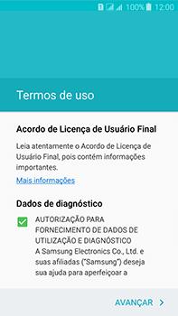 Como configurar pela primeira vez - Samsung Galaxy J7 - Passo 8