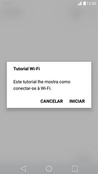 Como configurar uma rede Wi-Fi - LG G5 Stylus - Passo 3