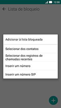 Como bloquear chamadas de um número específico - Asus ZenFone Go - Passo 8