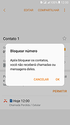 Como bloquear chamadas de um número específico - Samsung Galaxy J2 Prime - Passo 8