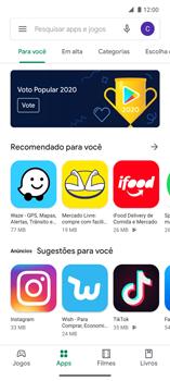 Como baixar aplicativos - Motorola Edge - Passo 5