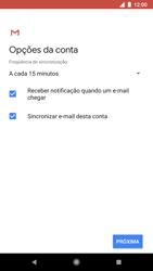 Como configurar seu celular para receber e enviar e-mails - Google Pixel 2 - Passo 19