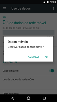 Como ativar e desativar uma rede de dados - Motorola Moto G5s Plus - Passo 5