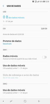 Como ativar e desativar uma rede de dados - Samsung Galaxy J8 - Passo 6