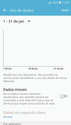 Como ativar e desativar uma rede de dados - Samsung Galaxy S7 - Passo 5