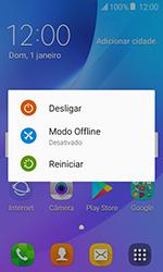 Como reiniciar o aparelho - Samsung Galaxy J1 - Passo 3