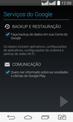 Como configurar seu celular para receber e enviar e-mails - LG G2 Lite - Passo 9