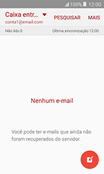 Como configurar seu celular para receber e enviar e-mails - Samsung Galaxy J1 - Passo 16