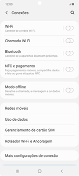 Como ativar e desativar o modo avião no seu aparelho - Samsung Galaxy Note 20 5G - Passo 4