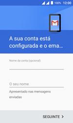 Como configurar seu celular para receber e enviar e-mails - Alcatel Pixi 4 - Passo 22