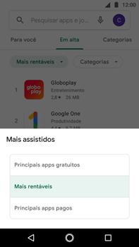 Como baixar aplicativos - Motorola Moto G5s Plus - Passo 9