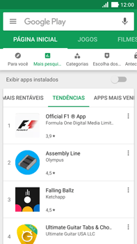 Como baixar aplicativos - Asus ZenFone 3 - Passo 9