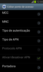 Como configurar a internet do seu aparelho (APN) - Samsung Galaxy S III Mini - Passo 12