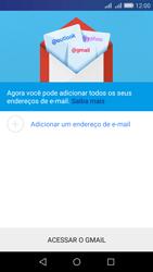 Como configurar seu celular para receber e enviar e-mails - Huawei Y6 - Passo 5