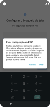 Como configurar pela primeira vez - Motorola Moto G8 Power - Passo 10