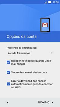 Como configurar seu celular para receber e enviar e-mails - Asus ZenFone Go - Passo 25