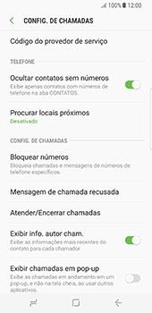 Como bloquear chamadas de um número específico - Samsung Galaxy S8 - Passo 6
