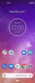 Como configurar seu celular para receber e enviar e-mails - Motorola One Vision - Passo 1