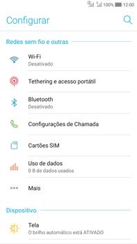 Como configurar uma rede Wi-Fi - Asus Zenfone Selfie - Passo 3